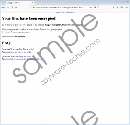 Shurl0ckr Ransomware Removal Guide