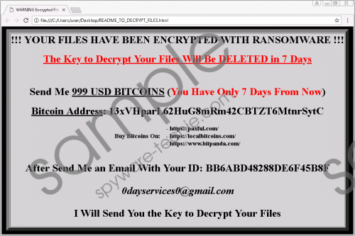 Ranion 1.08 Ransomware Removal Guide