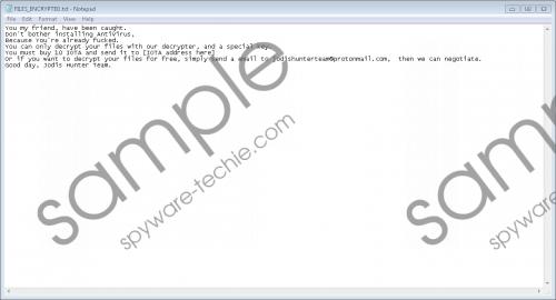 Scammerlocker Ransomware Removal Guide