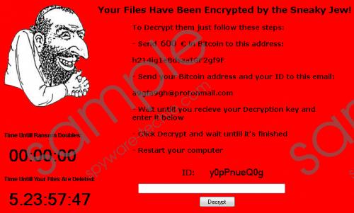 Jewsomware Ransomware Removal Guide