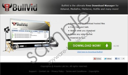 BullVid Download Manager Removal Guide