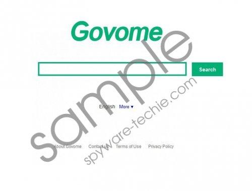 Govome Search Removal Guide