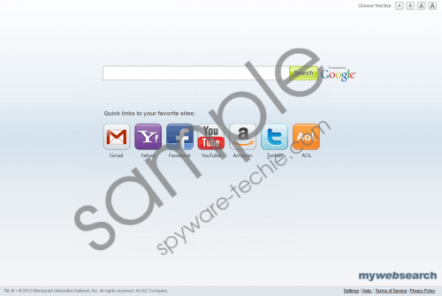 Mywebsearch.com Removal Guide