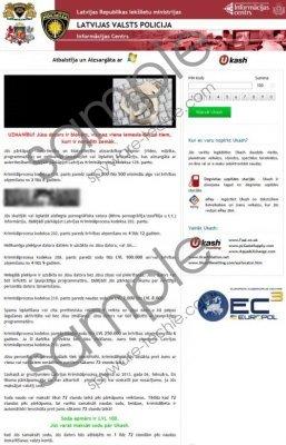 Latvijas Valts Policija Virus Removal Guide