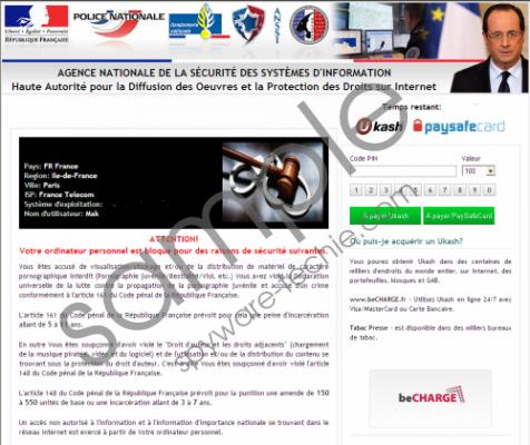 Agence nationale de la sécurité des systèmes d'information Virus Removal Guide