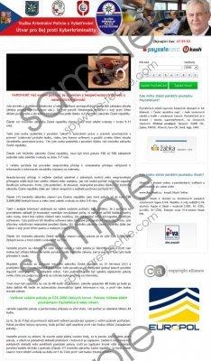 Služba Kriminální Policie a Vyšetřování virus Removal Guide