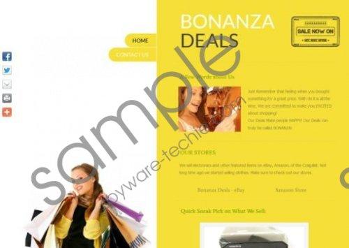 Bonanza Deals Removal Guide