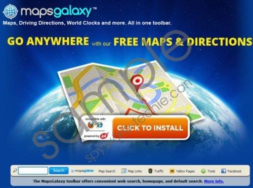 MapsGalaxy Toolbar Removal Guide