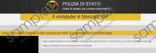 Unità di analisi sul crimine informatico Virus Removal Guide