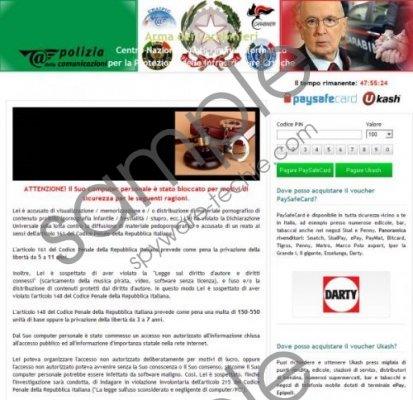 Carabinieri virus Removal Guide