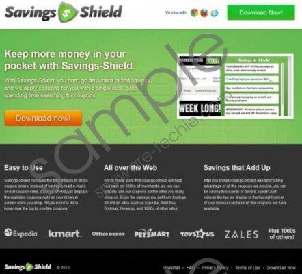 Savings Shield Removal Guide