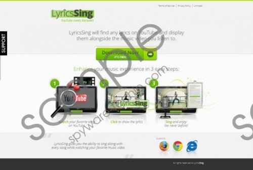 LyricsSing Ads Removal Guide