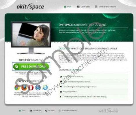 Adware.OKitSpace Removal Guide