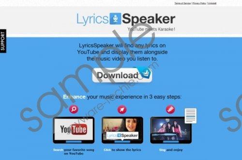 LyricsSpeaker Removal Guide