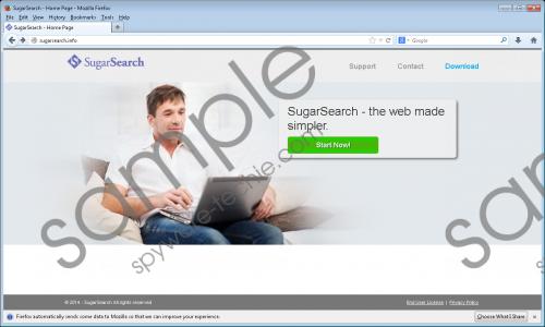 SugarSearch Ads Removal Guide