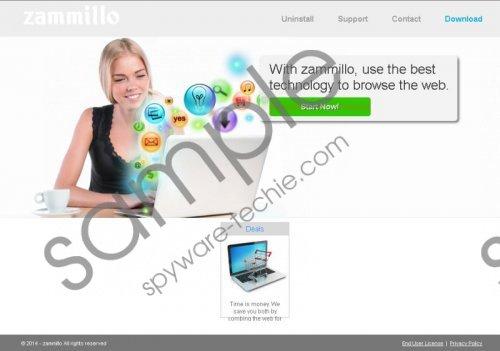 Zammillo ads Removal Guide