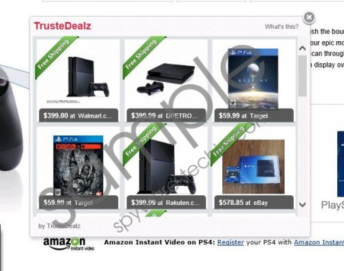 TrusteDealz Removal Guide