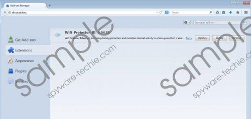 Wifi Protector BI Removal Guide