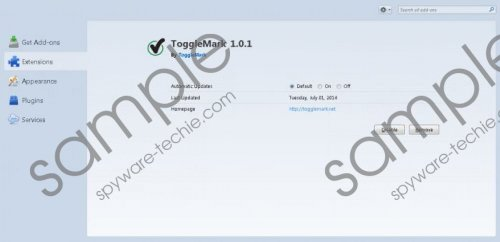 ToggleMark Ads Removal Guide