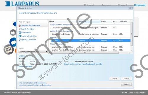 Larparus Removal Guide