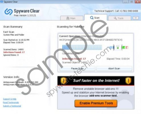 Spyware Clear Removal Guide