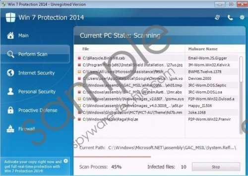 Win 7 Antivirus 2014 Removal Guide