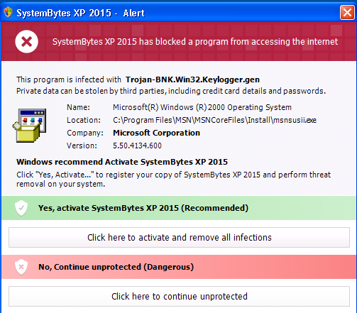 Security Bytes Win XP 2015 Removal Guide