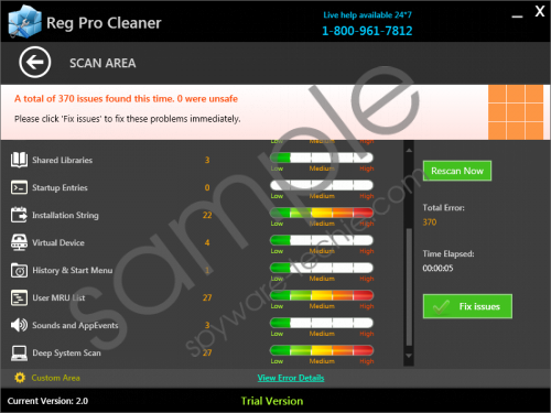 Reg Pro Cleaner Removal Guide