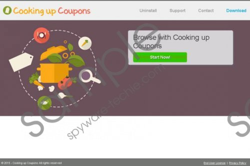 Cooking up Coupons Removal Guide