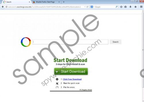 websearch.searchingissme.info Removal Guide