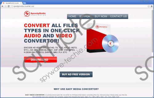 SpeedyMediaConverter Removal Guide