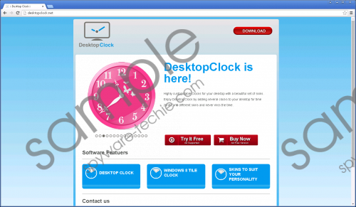 DesktopClock Removal Guide