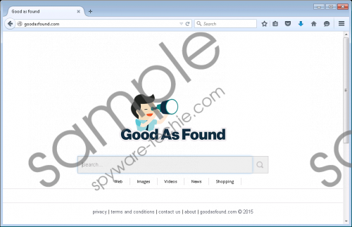 Goodasfound.com Removal Guide