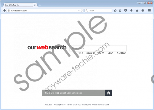 Ourwebsearch.com Removal Guide