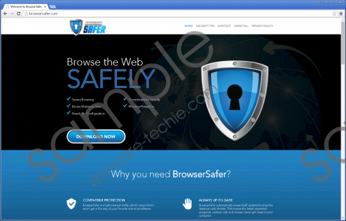BrowserSafer Removal Guide