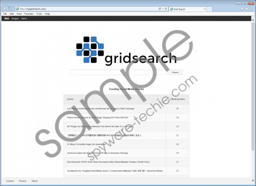 MyGridSearch.com Removal Guide