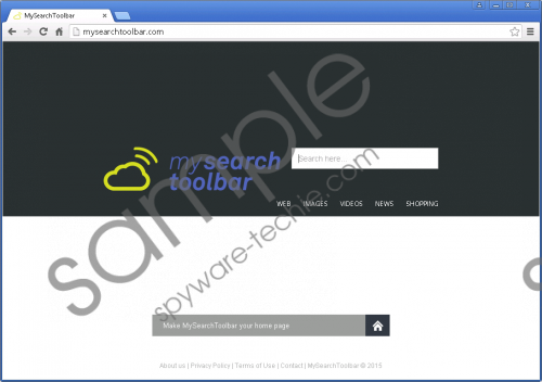 Mysearchtoolbar.com Removal Guide