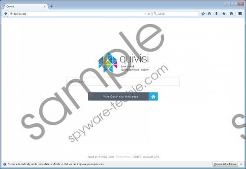 Quivisi.com Removal Guide