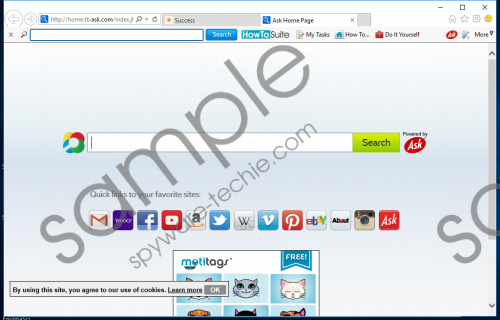 HowToSuite Toolbar Removal Guide