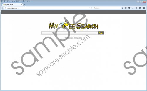MyBeeSearch.com Removal Guide