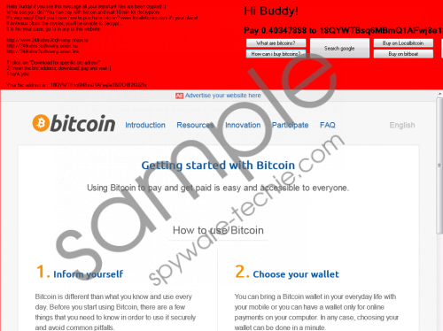 Hi Buddy Ransomware Removal Guide
