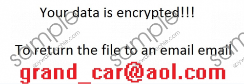 Grand_car@aol.com Ransomware Removal Guide