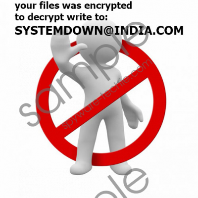 Systemdown@india.com Ransomware Removal Guide