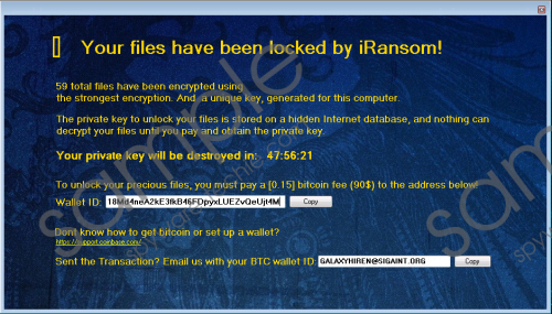 iRansom Ransomware Removal Guide