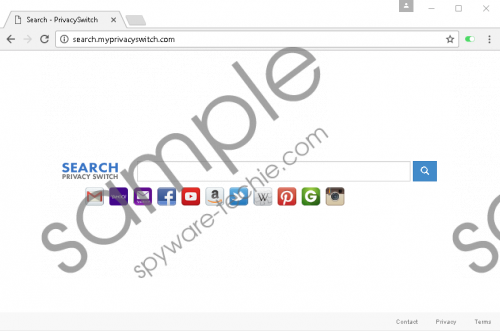 Search.myprivacyswitch.com Removal Guide