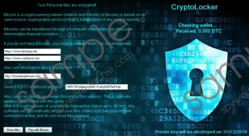 Cryptolocker3 Ransomware Removal Guide