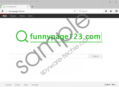 Funnypage123.com Removal Guide