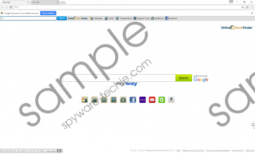 OnlineFormFinder Toolbar Removal Guide