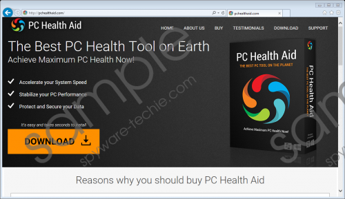 Pc Health Aid Removal Guide