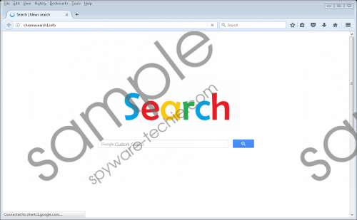 Chromesearch1.info Removal Guide